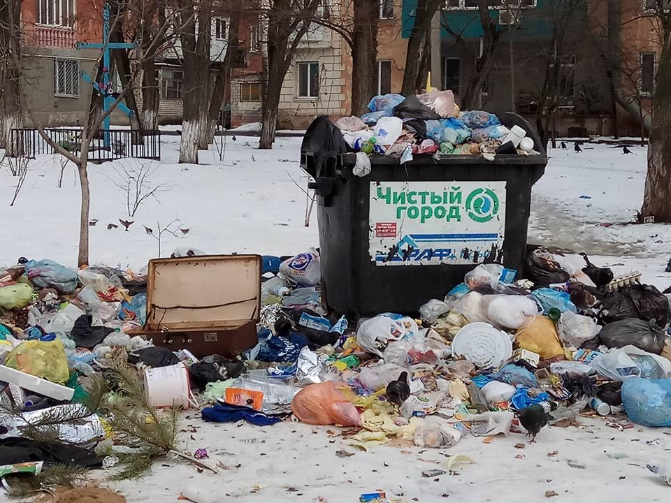 """""""Спасибо"""" городским властям Херсона за """"убранный"""" #мусор"""
