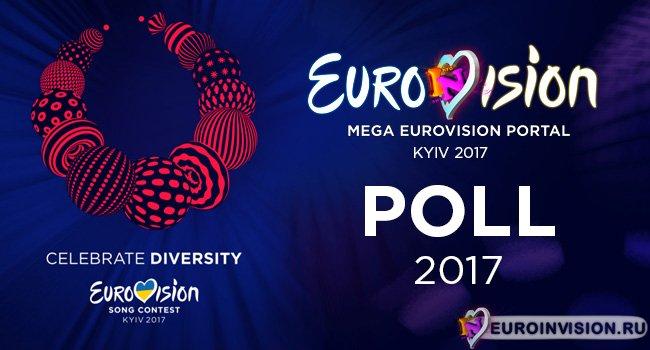 Итоги голосования «Eurovision Poll 2017» (Второй Полуфинал)