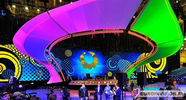Завершено строительство сцены конкурса Евровидение 2017 в Киеве