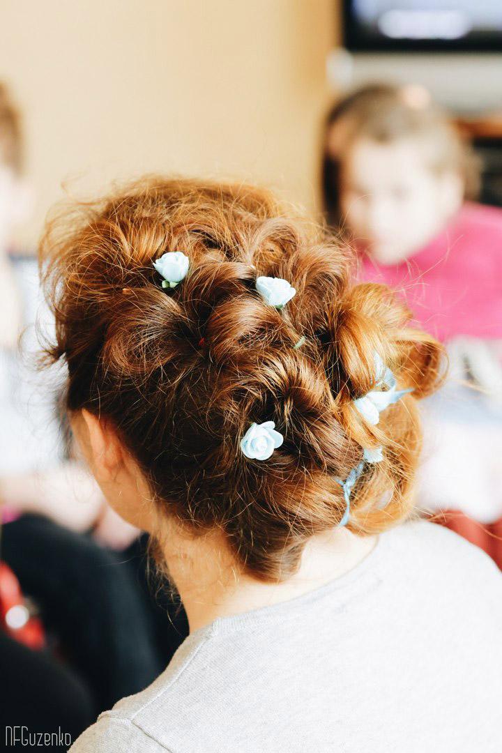 Воспитанниц Цюрупинского интерната обучали искусству создания причёсок