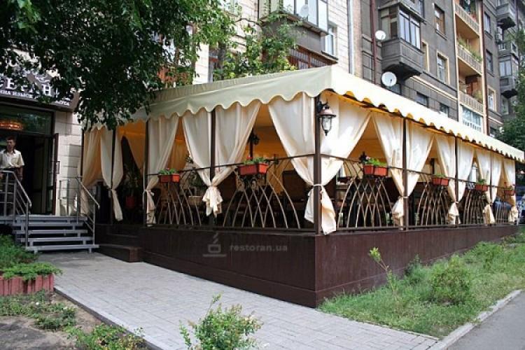 Дизайн летних площадок кафе
