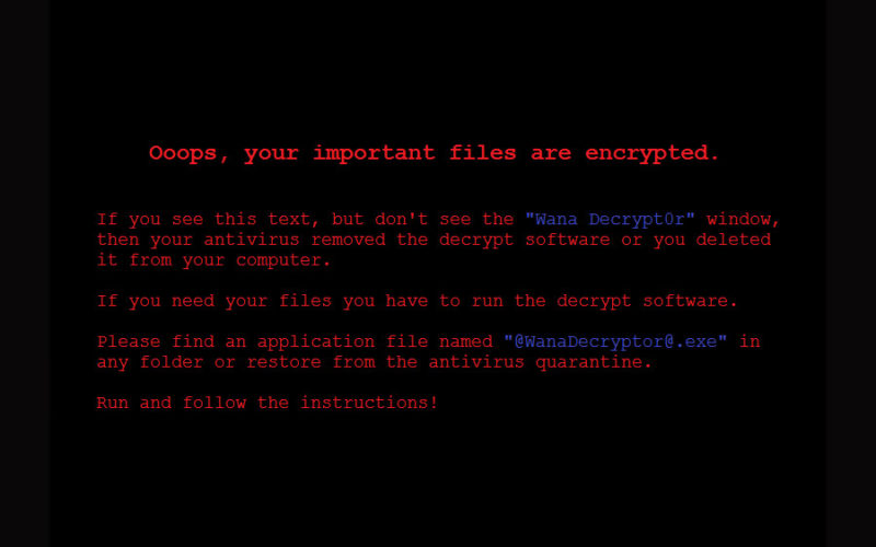 Как не заразиться кибервирусом WannaCrypt