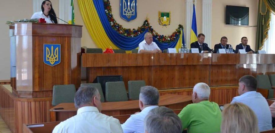 Призначення нової голови Олешківської РДА