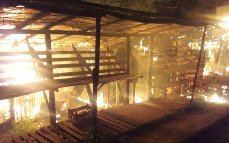 Херсонской области продолжаются поджоги: горел рынок возле села Шевченково
