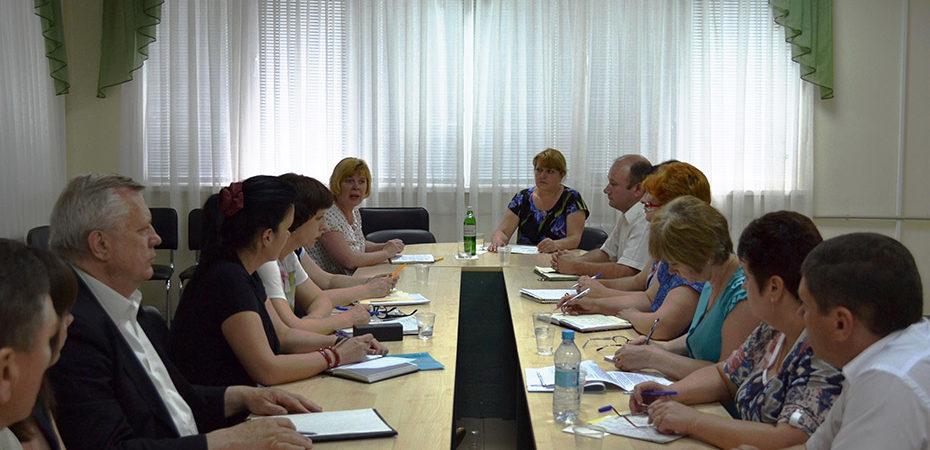 В головному управлінні Пенсійного фонду України в Херсонській області підбито підсумки роботи за 5 місяців 2017 року