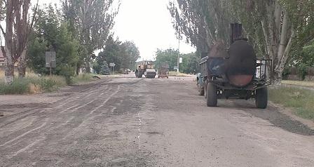 Ремонтні роботи автодороги Високопілля – Архангельське розпочато вчасно