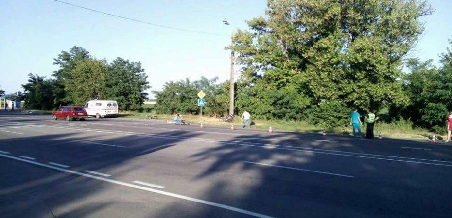 На Бериславском шоссе погибли 2 велосипедиста