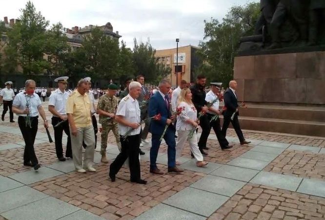 Прикордонники вшвнували пам'ять загиблих моряків