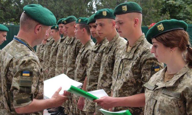 До Херсонського прикордонного загону прибули молоді лейтенанти