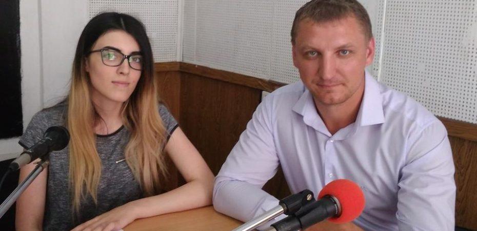 Про перші результати збору зернових розповів Олександр Паливода в ефірі обласного радіо