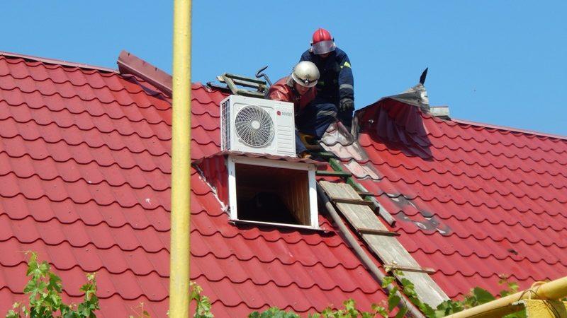 У Скадовську загасили пожежу у житловому будинку