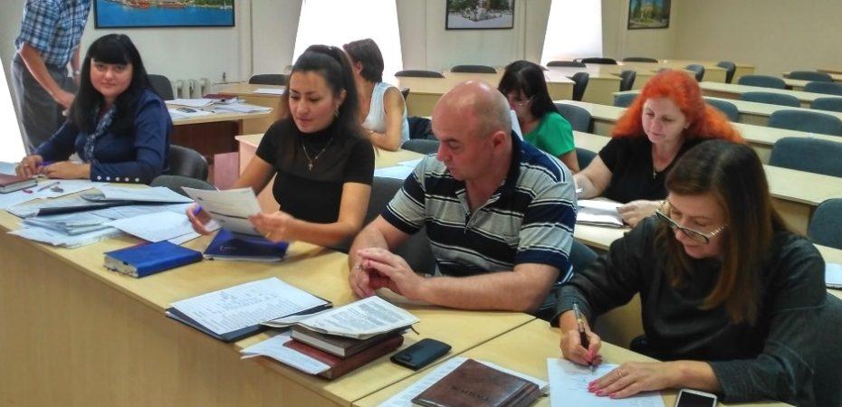 В Головному управлінні ДФС у Херсонській області відбувся конкурс на зайняття вакантних посад державної служби
