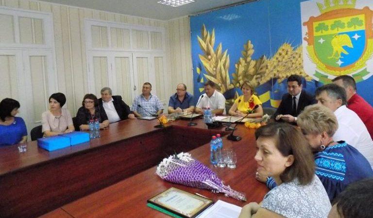 Підприємців Новотроїцького району привітали з професійним святом