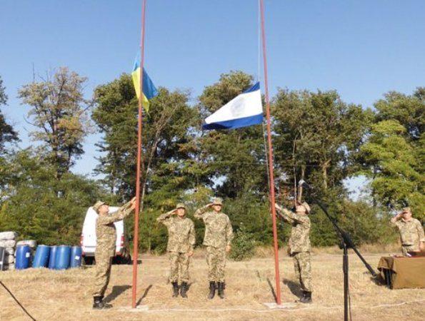 Відбулися урочистості з нагоди відзначення першої річниці проведення на Херсонщині навчань загонів територіальної оборони