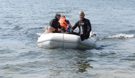 Сьогодні водолази ДСНС шукатимуть зниклого на воді чоловіка