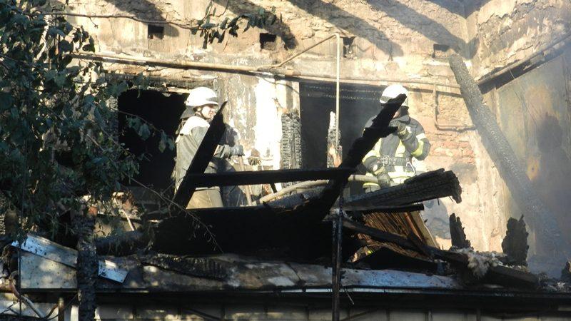 Херсон: знайдено тіло третьої дитини, яка загинула на пожежі