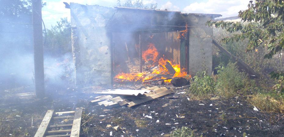 Голопристанські вогнеборці загасили пожежу у покинутій будівлі