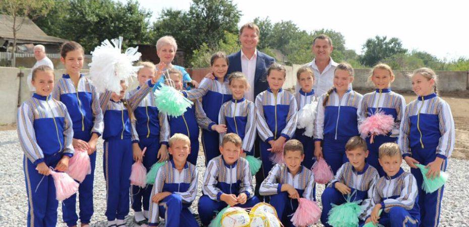 Андрій Гордєєв: Відновлюємо футбольну інфраструктуру Херсонщини