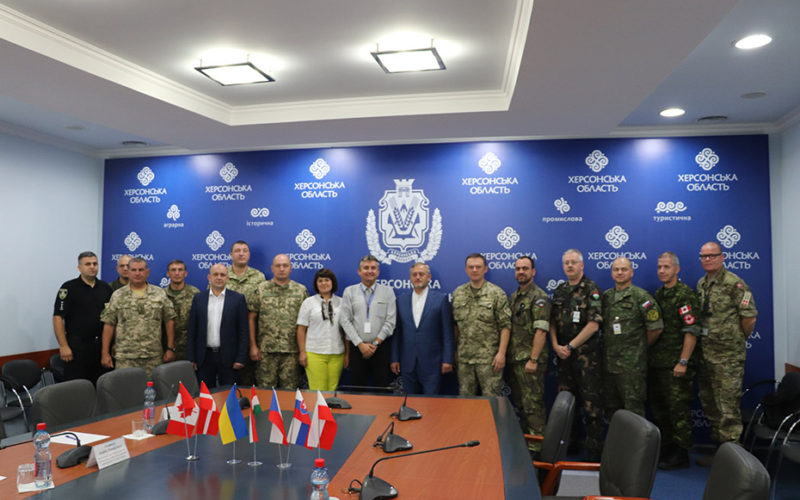 Херсонщину відвідала вже 26-та моніторингова місія ОБСЄ