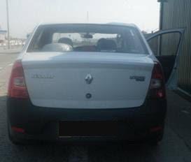 У контрольному пункті «Чонгар» прикордонники виявили дві автівки із порушеннями