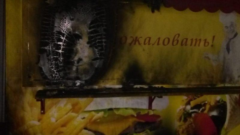 Каховські пожежні ліквідували займання обшивки торгівельного кіоску