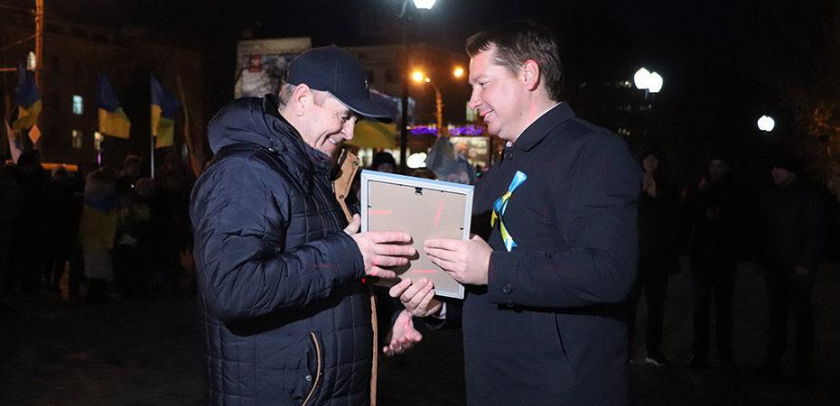 Андрій Гордєєв нагородив учасників Революції Гідності