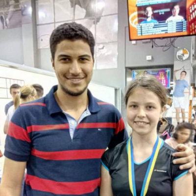 Уроженка Херсона стала лучшей на чемпионате Украины по сквошу