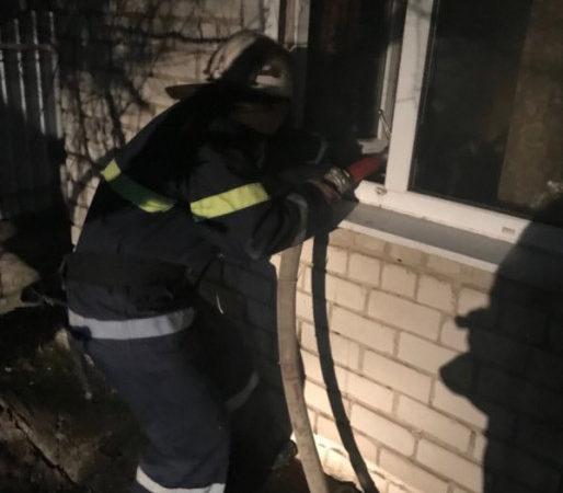 У Бериславському районі загасили пожежу в літній кухні