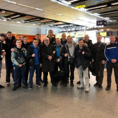 Херсонские боксеры отправились на Международный турнир в Венгрию