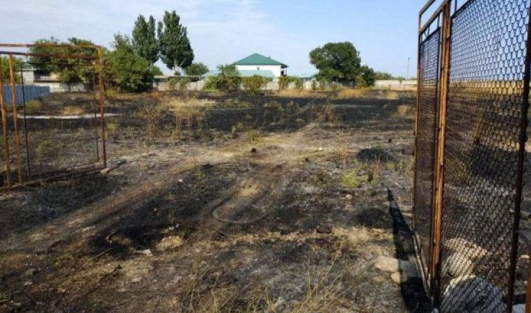 Знову на відкритих територіях Херсонщини горіли суха трава, пожнивні залишки та сміття