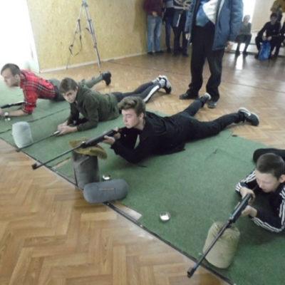 У Херсоні пройшли змагання зі стрільби серед школярів навчальних закладів міста