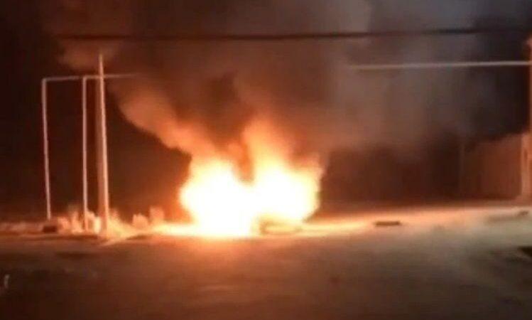 В Новой Каховке под газораспределительную станцию бросили взрывное устройство