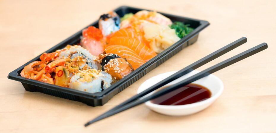 Преимущества доставки суши