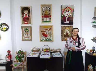 Открылась выставка изобразительного и декоративно-прикладного искусства «Пасха в Горнице»