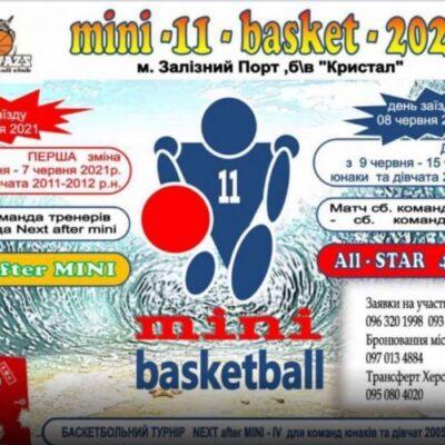 У Залізному Порту планують провести традиційний Фестиваль мінібаскетболу