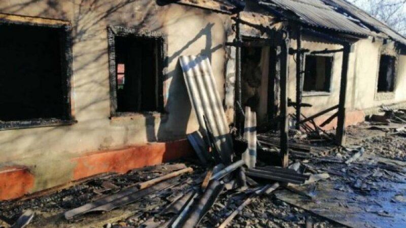 В Чаплынке дотла сгорел жилой дом